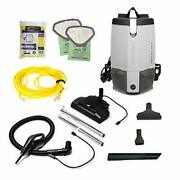 Proteam W/electrified Hose Outlet 103224 Cleaner, Provac Fs 6 Vacuum Backpack Wi