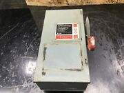 Cutler Hammer Dh361ngk 30a Heavy Duty Fusible Safety Switch 30 Amp 06c50pr4