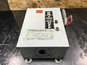 Ge Th3361j Enclosed Fusible Safety Switch 30a 600v 30 Amp 09c50pr4