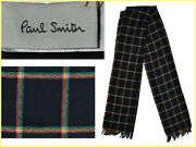 Paul Smith Scarf Man 100 Wool Shop 180 Andeuro Here For Much Less Ps41 D-0b