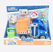 Blippi Talking Recycling Truck Garbage Recycle Vehicle New Release Gift Figure