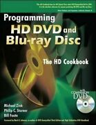 Programming Hd Dvd And Blu-ray Disc By Michael Zink And Philip Starner - Hardcover