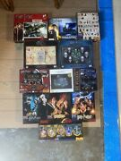 12 Rare Htf Harry Potter Jigsaw Puzzles 500-1000 Piece Glow And Poster Puzzles