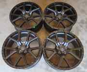 Custom Wheels / Rims 20 Inch 5x120 Matte Black Off Road Land Rover Discovery