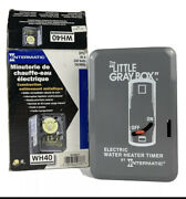 Intermatic Wh40 Electric Water Heater Timer - Gray