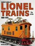 Standard Catalog Of Lionel Trains 1900-1942 2nd Edition By David Doyle