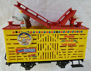Vintage Lgb Trains Disney Animated Dumbo And Timothy Mouse Stock Car 94168 G Box