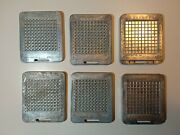 Vintage Mattel Thingmaker Picadoos Molds For Use With Plasti Goop