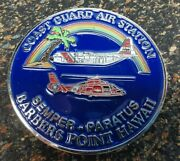 Challenge Coin Coast Guard Air Station Barberand039s Point Hawaii 1 3/4