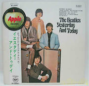 Toshiba Emi Beatles Yesterday And Today Black Board Sound Machine Ap-80061