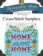 Remember When Cross-stitch Samplers Nostalgic Scenes To By Jessica Mint