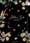 Address Book With Tabs B6 Small Contact Notebook By Emily Grace Brand New