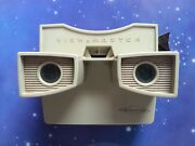 Vintage Sawyers Viewmaster Model G Stereo Viewer Retro Optical Toy Beige