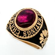 Nbc Award Ring For 1986-87 Ratings Champion 10k Gold Collectable