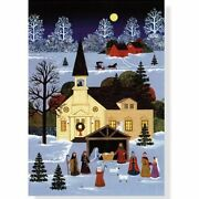 Country Nativity Holiday Boxed Cards Christmas Cards, By Peter Pauper Staff New