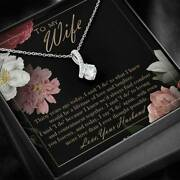 Romantic Husband To Wife Jewelry Necklace 30 Years 30th Wedding Anniversary Gift