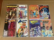 100+ 1980s Comic Book Lot Comico, Eclipse, First, Blackthorne, Dc, Marvel