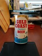 Gold Coast Beer Fan Tab Pull Top Empty Can--rare--