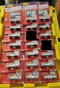 Johnny Lightning Limited Edition Usps Truck And Stamp Lot - 19 Trucks