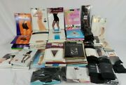 Vintage Nylon Pantyhose Lot 99 Nos Packs Knee Highs Shapers Hanes Spanx Tights