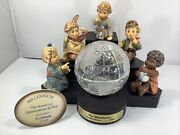Goebel Hummel Limited Edition- The Wanderers Millennium Set W/ Box And Signed
