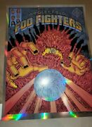 Foo Fighters Foil Emek Gan Wrigley Field Chicago A/p Poster Of Only 80