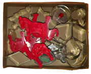 1950andrsquos Assorted Dessert Cookie Cutters Christmas Shapes