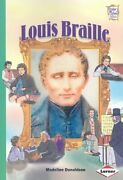 Library Book Louis Braille History Maker Bios By National Geographic Learning