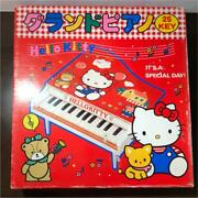 Sanrio Hello Kitty Grand Piano Kids Musical Instrument Toys Retro Things At The