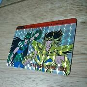 Saint Seiya Pp Card Death Mask Cancer Complete Class Prism Initial Ca2-3