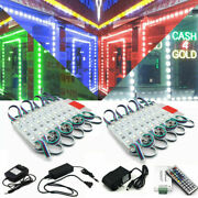 Us Rgb 3 Led Smd5050 Module Store Front Window Sign Lamp Bar Boat Counter Light