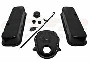 1965-90 Compatible/replacement For Chevy Big Block 396-427-454-502 Black Stee...