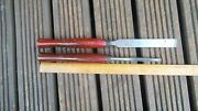 Record Vintage Carpentry / Woodworking Tools Chisels