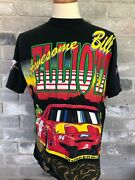 Vintage 1995 Bill Elliott And The Dawsonville Gang Awesome Nascar Racing Tee