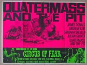 Quatermass And The Pit / Circus Of Fear. 1968 Horror Double Bill Uk Quad
