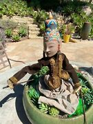 Hand Carved Balinese Puppet Purchased In Bali Early 1980s Fine Features