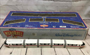 Walt Disney World Red Monorail Playset With Monorail Track In Box