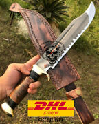 Custom Handmade 1095 Carbon Steel Tactical Nives Survival Huntinf Bowie Knife