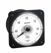 Wd110-hz Ac Pointer Marine Meter Hz45-55 Frequency Meter Wide Angle 63l18 63l19