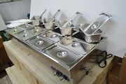 Food Warmer Buffet Electric Server 12pans Food Warmer Machine Stainles Full New