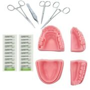 Silicone Artificial Human Skin Oral Teeth Gum Suture Training And Practice Kit