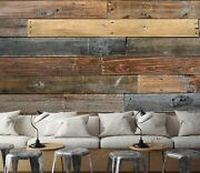 3d Vintage Planks Zhua9999 Wallpaper Wall Murals Removable Self-adhesive Amy