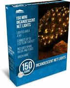 Joiedomi 150 Warm White Incandescent Christmas Net Lights For Indoor And Outdoo...