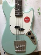 Squier 0374570557 Classic Vibe 60s Mustang Electric Bass Guitar - Green