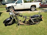 Harley-davidson Rolling Chassis 81 Fl Shovelhead With Title
