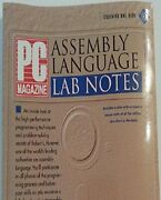 Pc Magazine Assembly Language Lab Notes/book And Disk By Robert L. Hummel Vg+