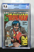 Iron Man 128 Cgc 9.6 ❄️snow White Pages❄️ 1979 Newstand Edition==alcoholism==