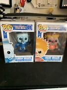 Funko Pop A Year Without A Santa Claus Set Heat Miser And Snow Miser Figure