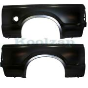 99-10 F-series Truck 7and039 Short Bed Rear Outer Quarter Panel Left And Right Set Pair