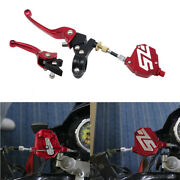 Motorcycle Short Stunt Clutch Pull Cable Lever Replacement Easy System Universal